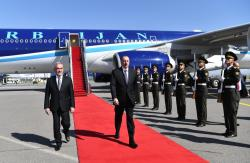 Поездка Президента Ильхама Алиева в Нахчыван - ОБНОВЛЕНО - ФОТО