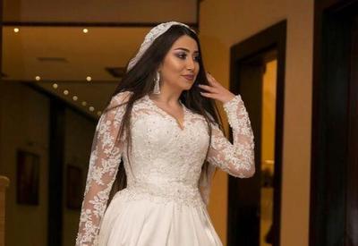 Фото дня - Damla в свадебном платье