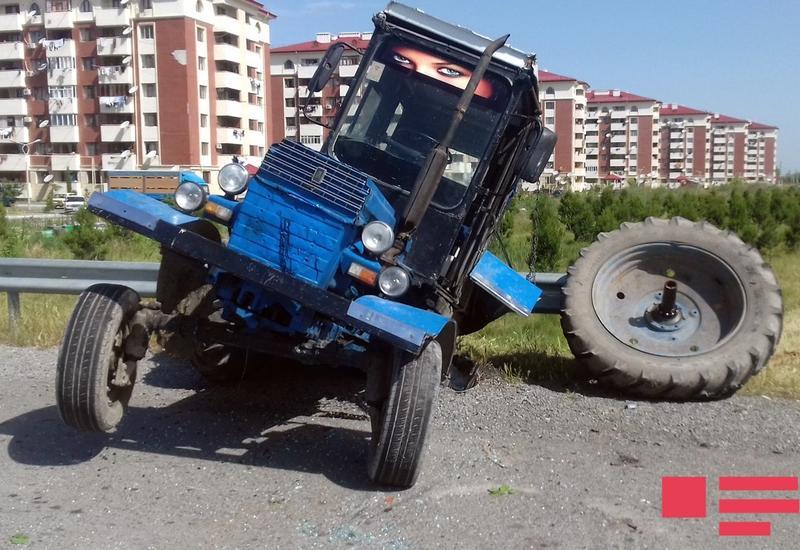 В Барде поезд столкнулся с трактором, есть пострадавшие