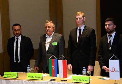 """Азербайджан и Польша обсуждают в Баку потенциал развития экономических связей <span class=""""color_red"""">- ФОТО</span>"""