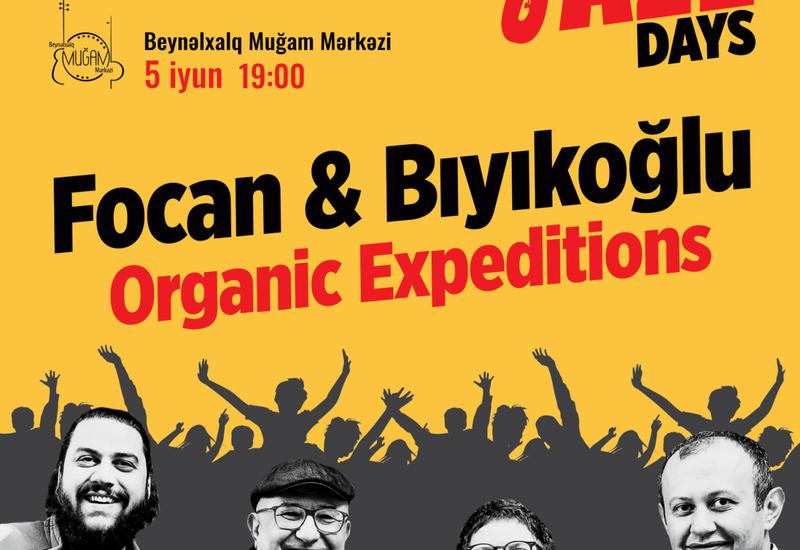 Летние дни джаза в Баку вместе с Önder Focan