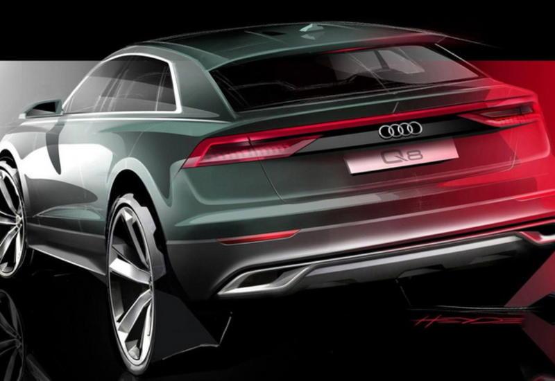 "Audi приоткрыла завесу над новым кросс-купе Q8 <span class=""color_red"">- ФОТО</span>"