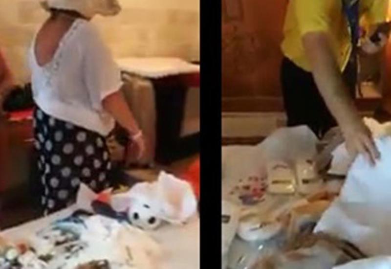 Туристку поймали на масштабной краже в турецком отеле