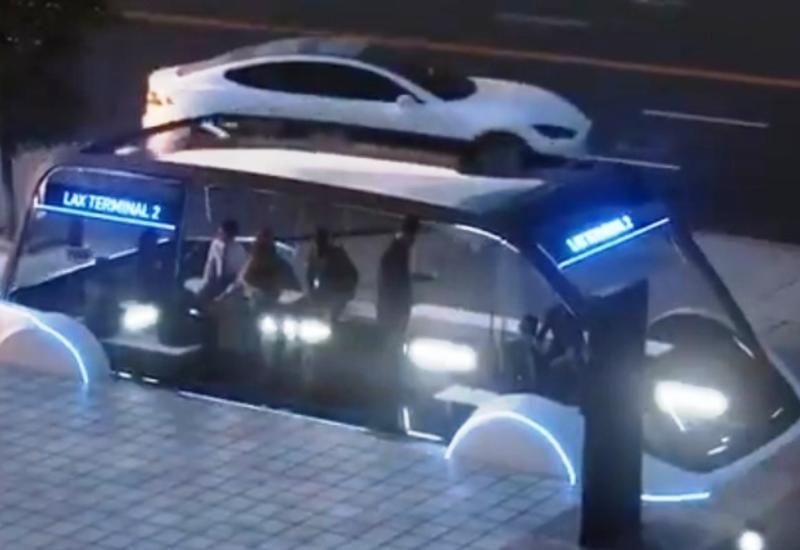 Илон Маск назвал цену поездки по скоростному тоннелю под Лос-Анджелесом