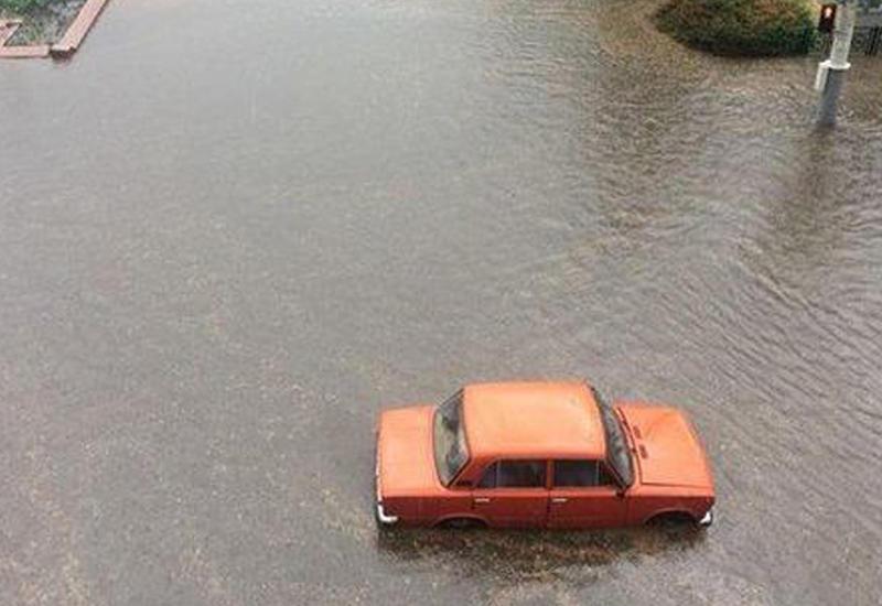 Минск ушел под воду