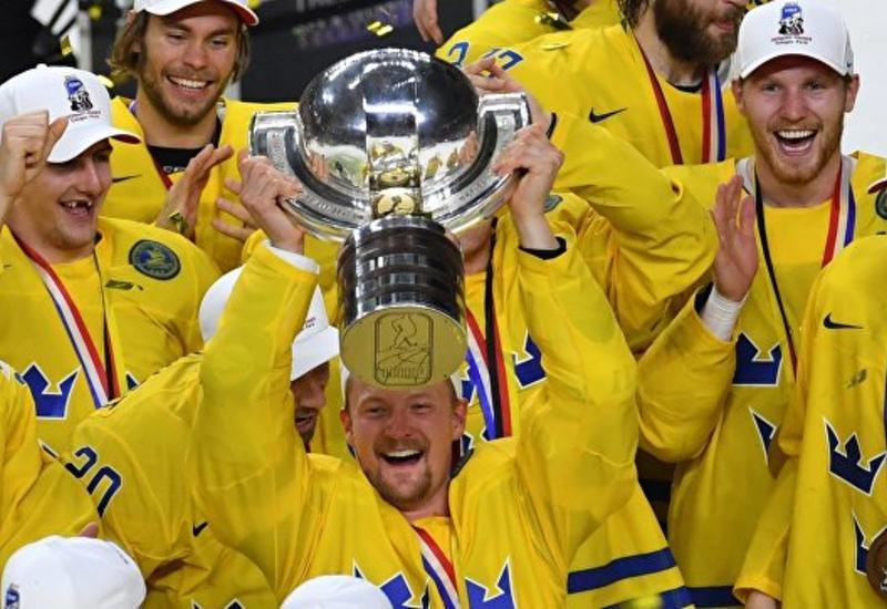 Сборная Швеции выиграла чемпионат мира по хоккею 2018