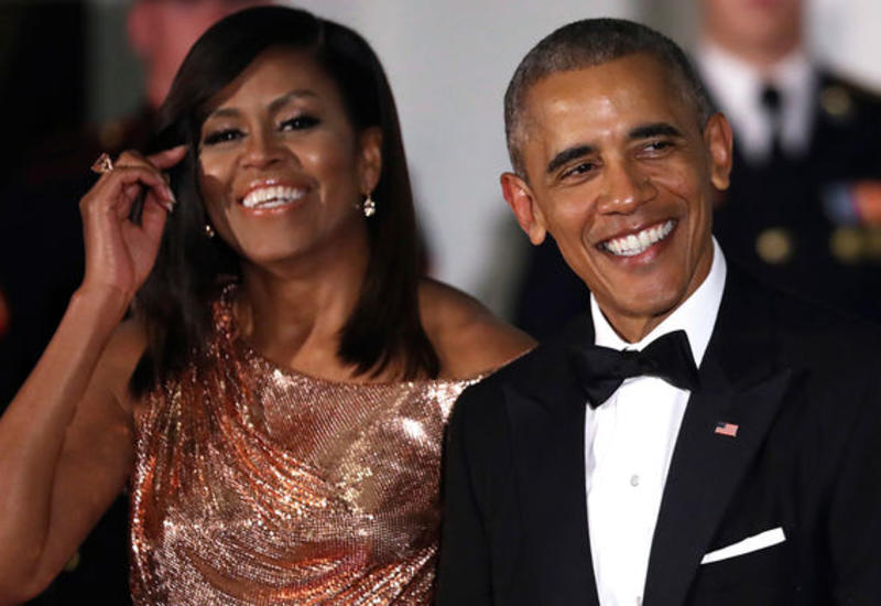 Барак и Мишель Обама подписали контракт с Netflix