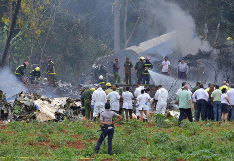 На Кубе идентифицировали останки 20 погибших в авиакатастрофе