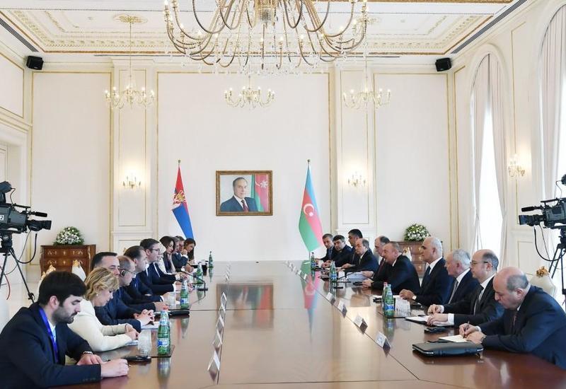 Президент Александр Вучич: Сербские компании могут быть привлечены в Азербайджан