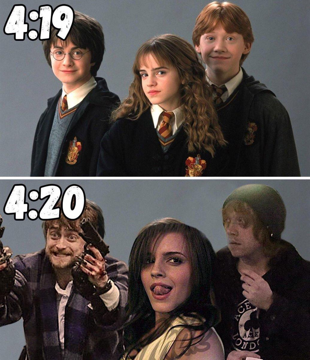 Гарри Поттер уже не тот: Дэниел Рэдклифф в халате и с ...