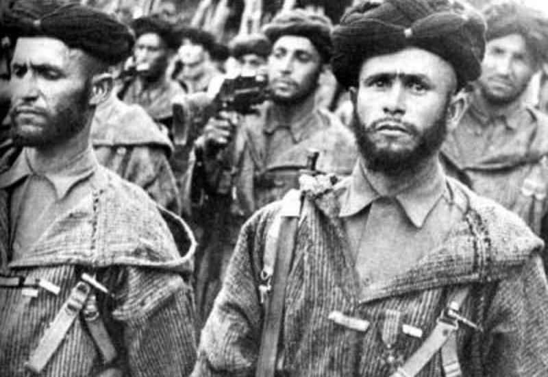 Марокканские гумьеры: самые жестокие солдаты Второй мировой