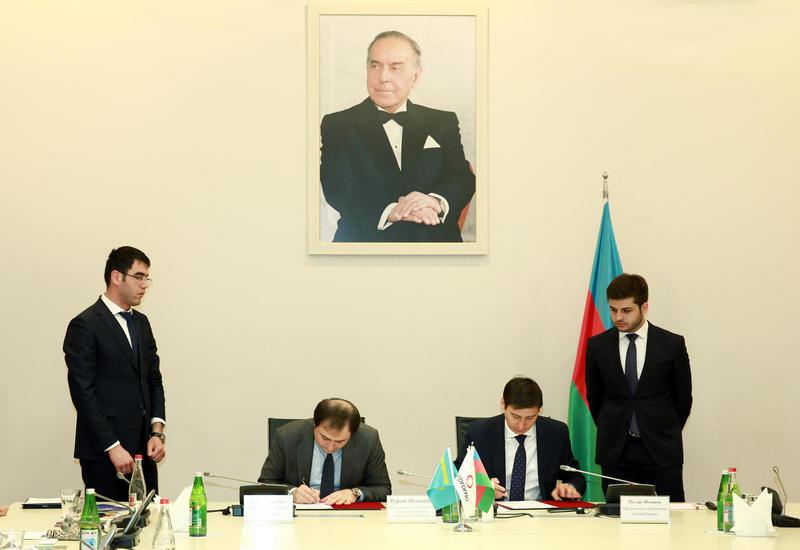 """Азербайджан и Казахстан расширяют бизнес-связи <span class=""""color_red"""">- ФОТО</span>"""