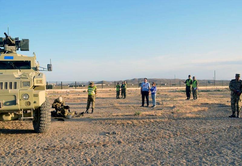 """В Баку проводится учение по самооценке разведроты в рамках программы НАТО <span class=""""color_red"""">- ФОТО - ВИДЕО</span>"""