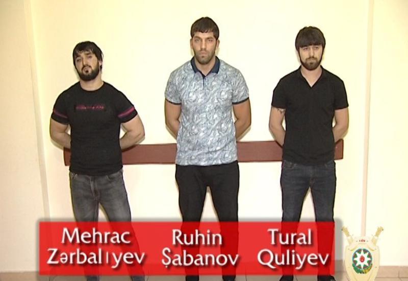 В Баку задержана группа вооруженных наркоторговцев