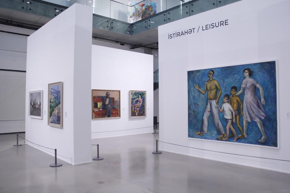 Состоялось открытие выставки «Труд, отдых и мечты: 1960-1980-е глазами азербайджанских мастеров»