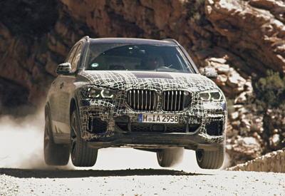 Опубликован ролик с новым поколением BMW X5
