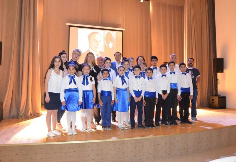В бакинской музшколе прошел концерт, посвященный 95-летию Общенационального лидера Гейдара Алиева