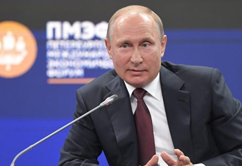 """Путин предложил прекратить разговоры вокруг """"дела Скрипаля"""""""