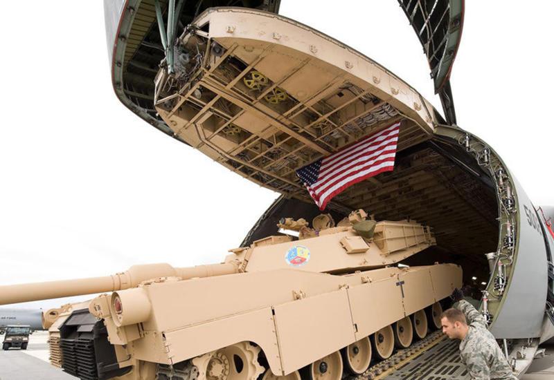 США перебрасывают танки и солдат в Европу