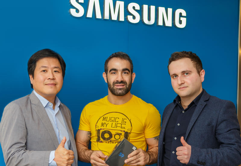 "Новый проект от Samsung <span class=""color_red"">- ФОТО</span>"