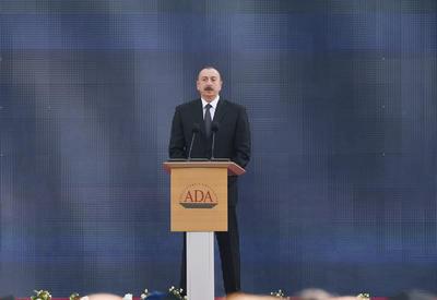 Президент Ильхам Алиев: Повышение уровня образования в Азербайджане и соответствие его международным стандартам - это наша главная задача