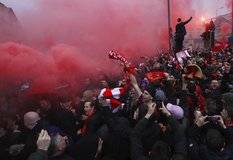 Около 18 тысяч болельщиков прибыли в Киев на финал Лиги чемпионов