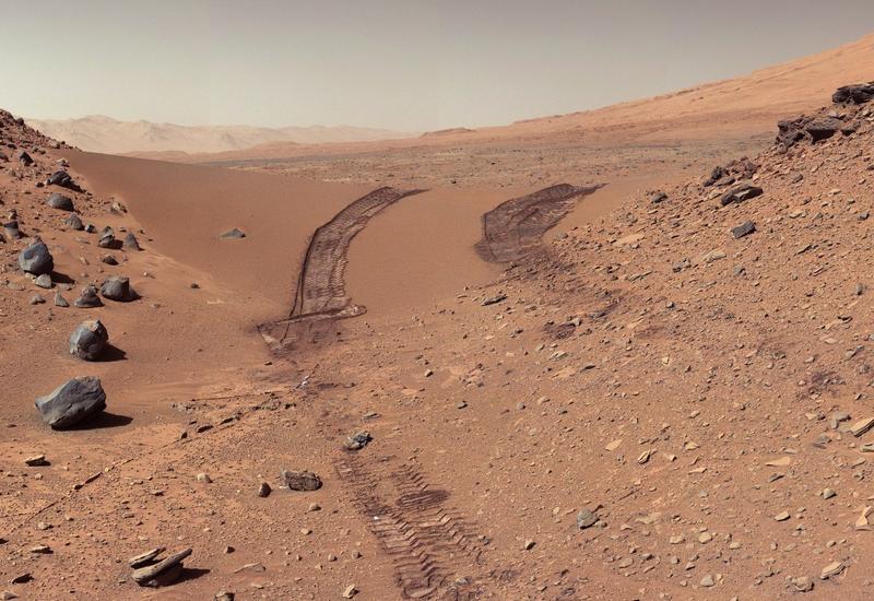 На Марсе нашли окаменелости, в которых могли сохраниться следы жизни