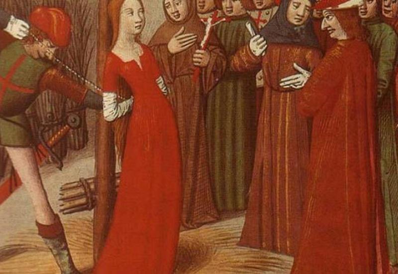 Какевропейцы наказывали своих жен
