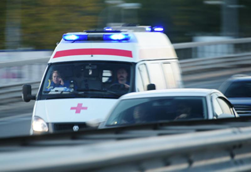 В России автобус с детьми столкнулся с грузовиком