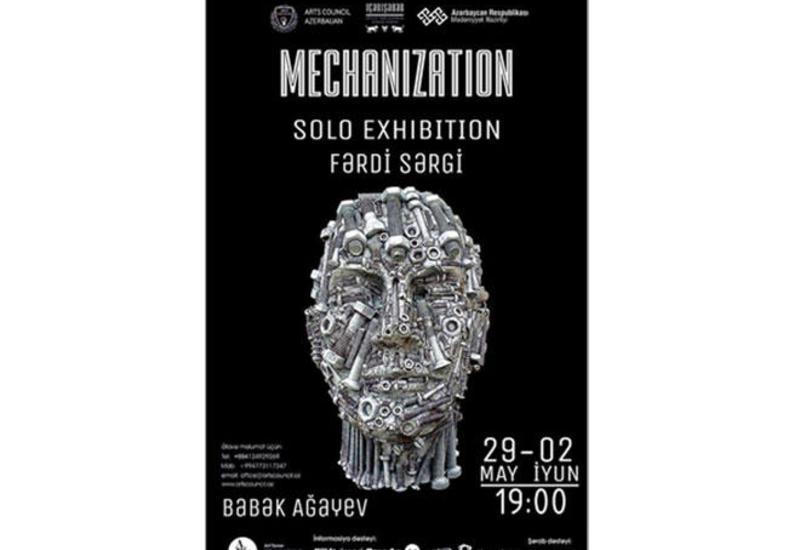 В Баку пройдет выставка художника Бабека Агаева