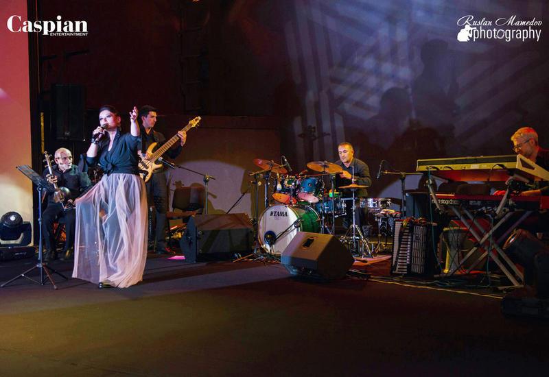 Нармин Керимбекова дала свой первый сольный концерт в Баку