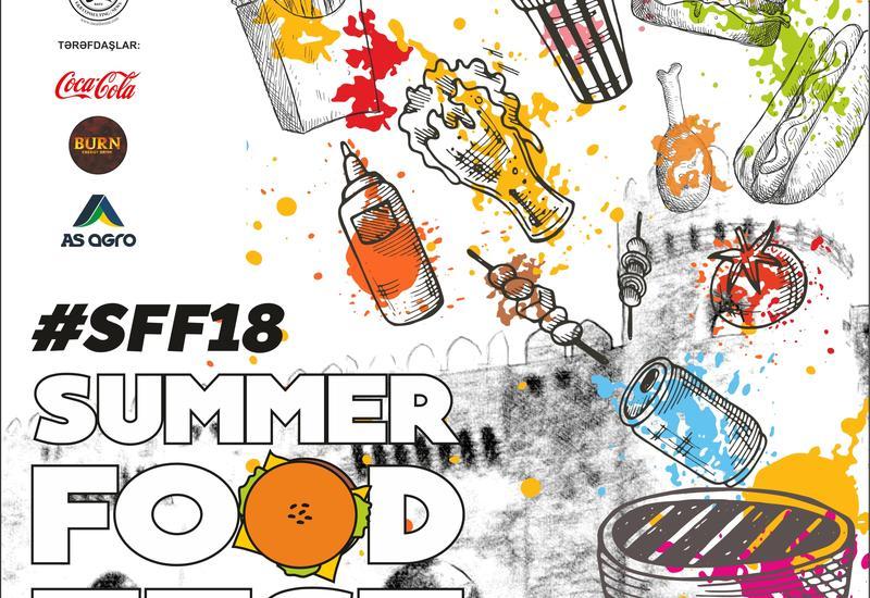 В Баку пройдет Фестиваль еды Summer Food Fest