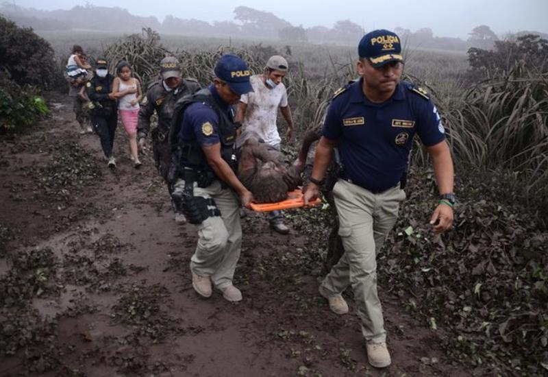 Извержения вулкана в Гватемале: десятки жертв и сотни раненых