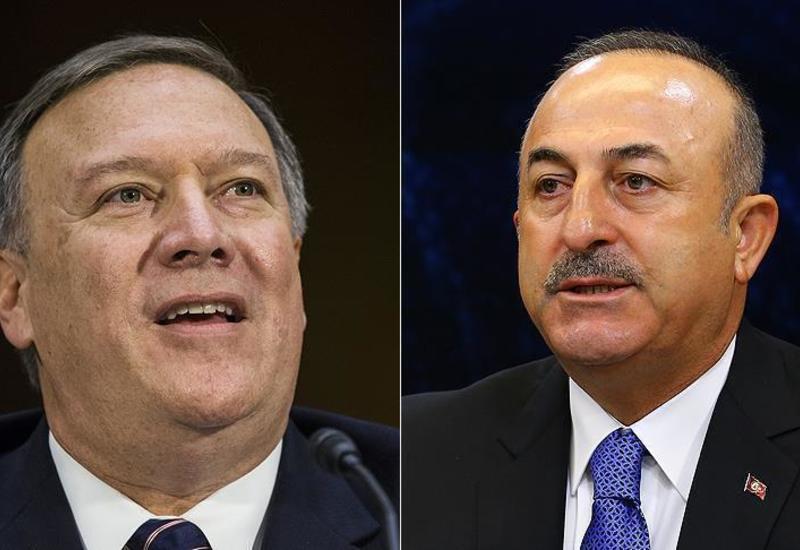 Чавушоглу и Помпео обсуждают в США вопрос сирийского Манбиджа