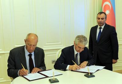 """Азербайджан и Всемирная организация интеллектуальной собственности подписали важный документ <span class=""""color_red"""">- ФОТО</span>"""