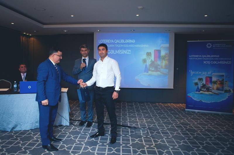Международный Банк Азербайджана наградил 100 своих клиентов