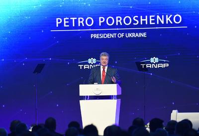 Петр Порошенко: TANAP важен для всей Европы, в том числе для Украины