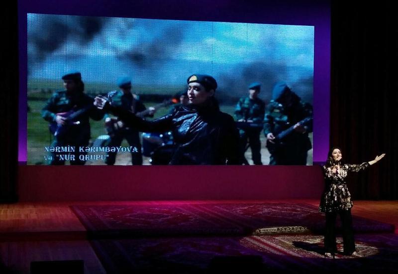 Во Дворце Гейдара Алиева прошел праздничный вечер, посвященный Дню национального спасения