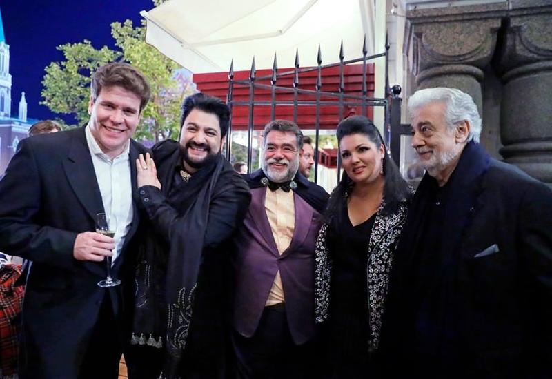 Народный артист Азербайджана выступил на грандиозном гала-вечере в честь открытия ЧМ-2018