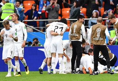 """Уругвай обыграл Египет во втором матче ЧМ-2018 <span class=""""color_red"""">- ВИДЕО</span>"""