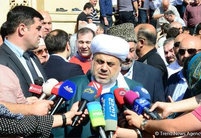 Шейхульислам: Сегодня в Азербайджане нет внутриконфессиональной розни