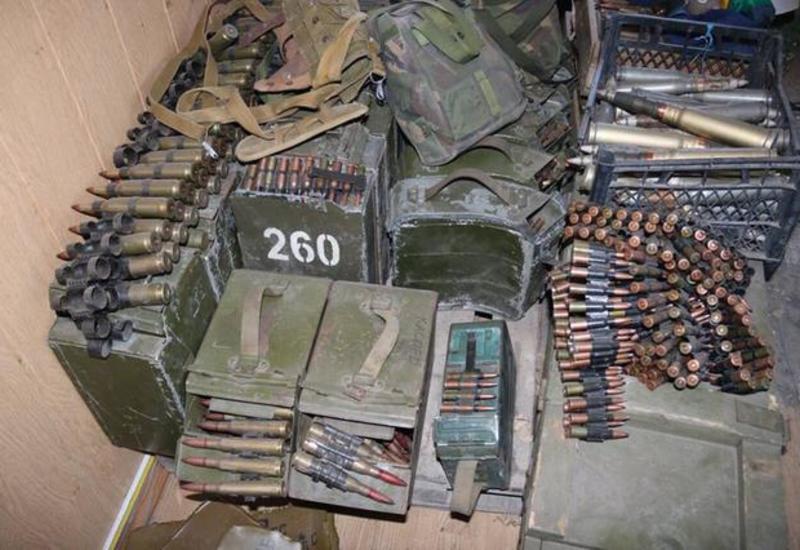В Турции обнаружен самый большой склад боеприпасов РПК