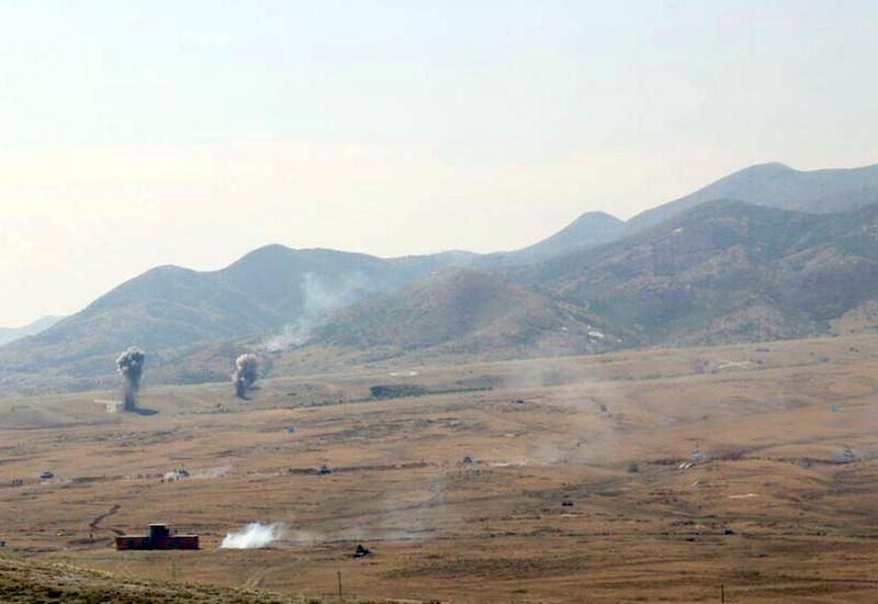 Cəbhəboyu zonada yerləşən hərbi birliyin təlimləri başa çatdı - FOTO