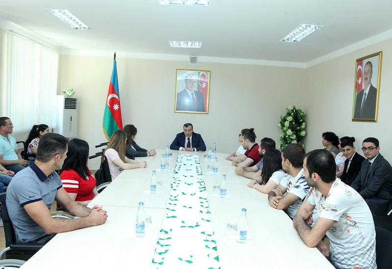 "В Азербайджане будет усилено внимание к самозанятости молодежи <span class=""color_red"">- ФОТО</span>"