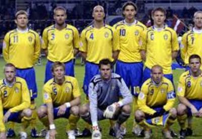 Сборная Швеции по футболу провела тренировку в полном составе перед матчем с южнокорейцами