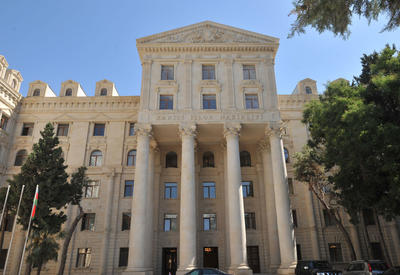МИД: Визит Пашиняна на оккупированные территории Азербайджана - призыв к войне