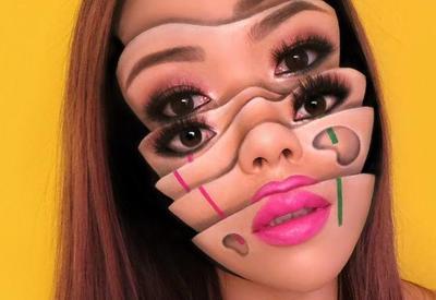 """Жутко и необычно: сюрреалистичный макияж от Мими Чой """"взрывает"""" сеть"""