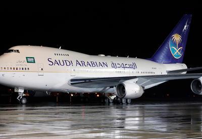 Самолет сборной Саудовской Аравии загорелся в воздухе