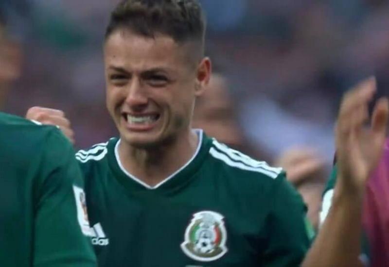 """Нападающий сборной Мексики расплакался после победы над Германией <span class=""""color_red"""">- ФОТО</span>"""