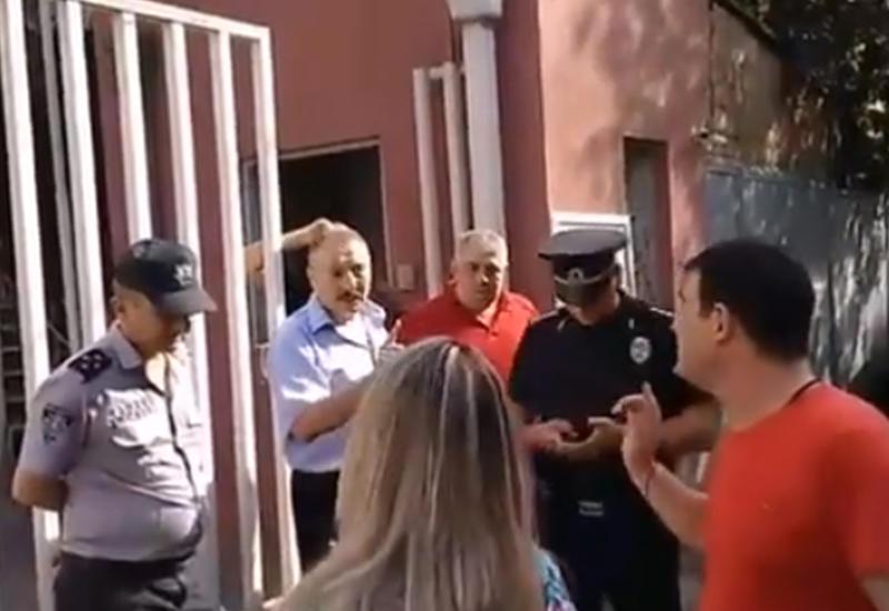 """Посольство Армении в Грузии запретило грузинам выражать протест <span class=""""color_red"""">-ПОДРОБНОСТИ</span>"""